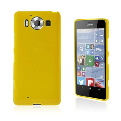 Sund Microsoft Lumia 950 deksel - Gul