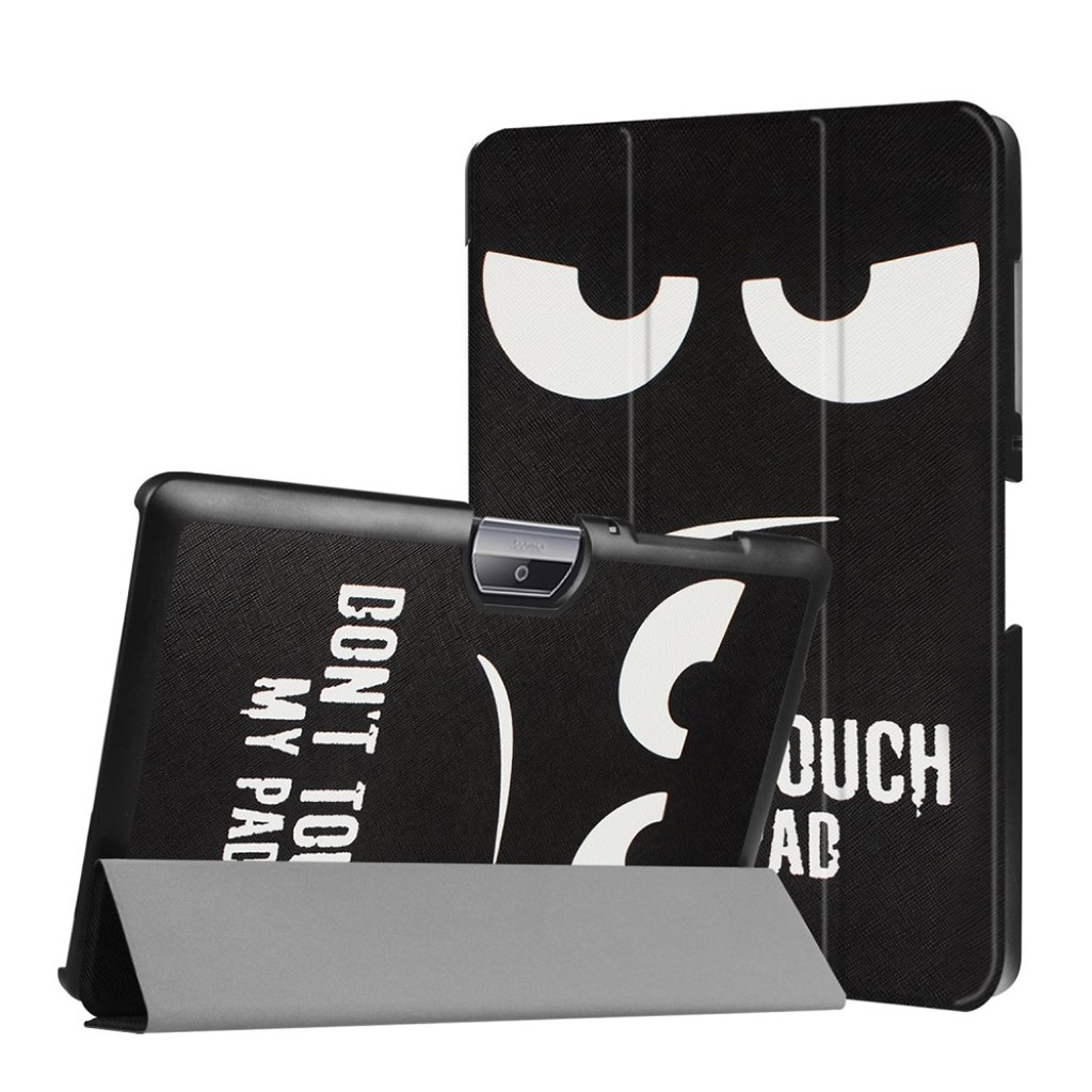 Bilde av Acer Iconia Tab 10 B3-a30 Pattern Tri-fold Pu Leather Flip Case - Do Not Touch My Pad