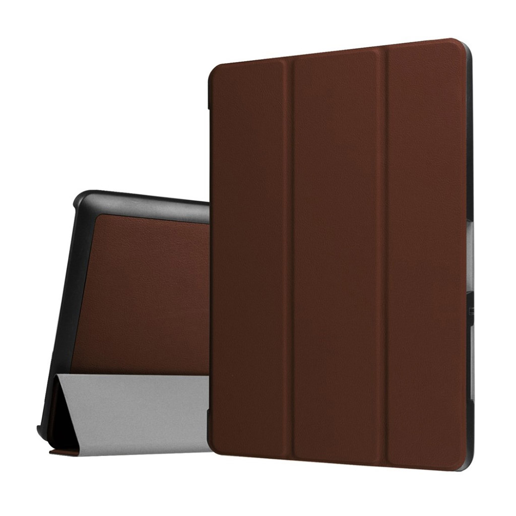 Bilde av Acer Iconia Tab 10 B3-a30 Tri-fold Pu Leather Flip Case - Brown