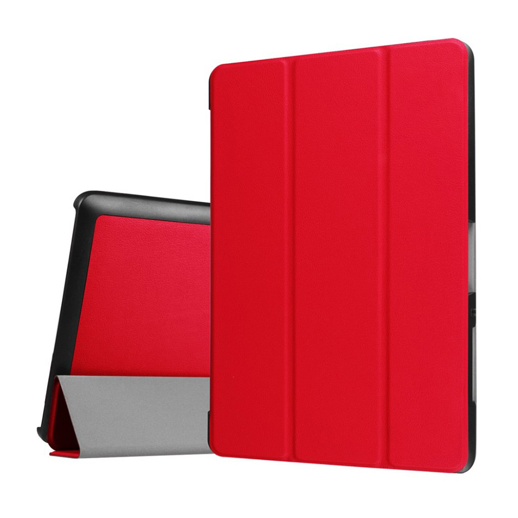 Bilde av Acer Iconia Tab 10 B3-a30 Tri-fold Pu Leather Flip Case - Red