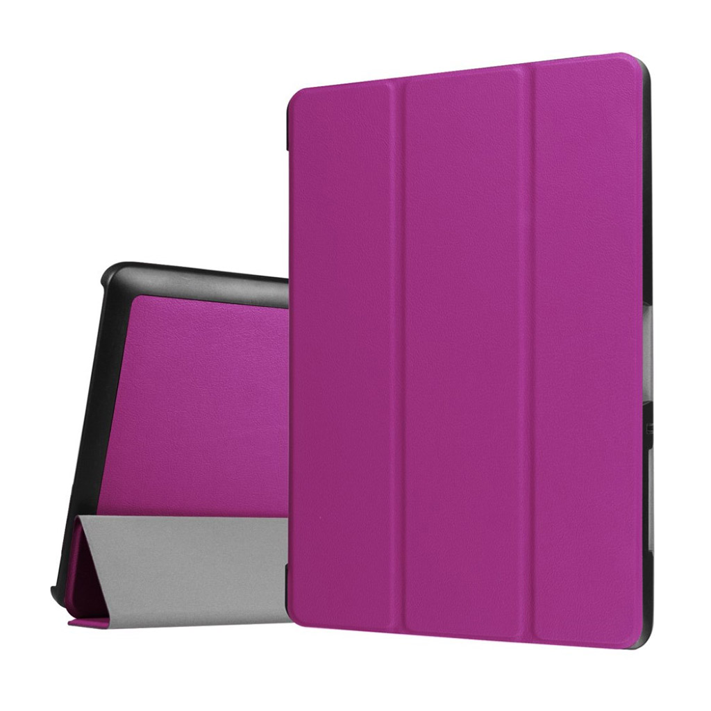 Bilde av Acer Iconia Tab 10 B3-a30 Tri-fold Pu Leather Flip Case - Purple
