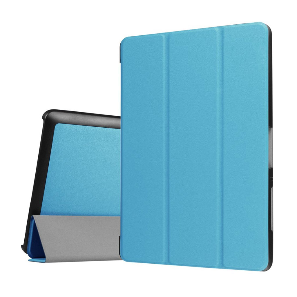Bilde av Acer Iconia Tab 10 B3-a30 Tri-fold Pu Leather Flip Case - Baby Blue