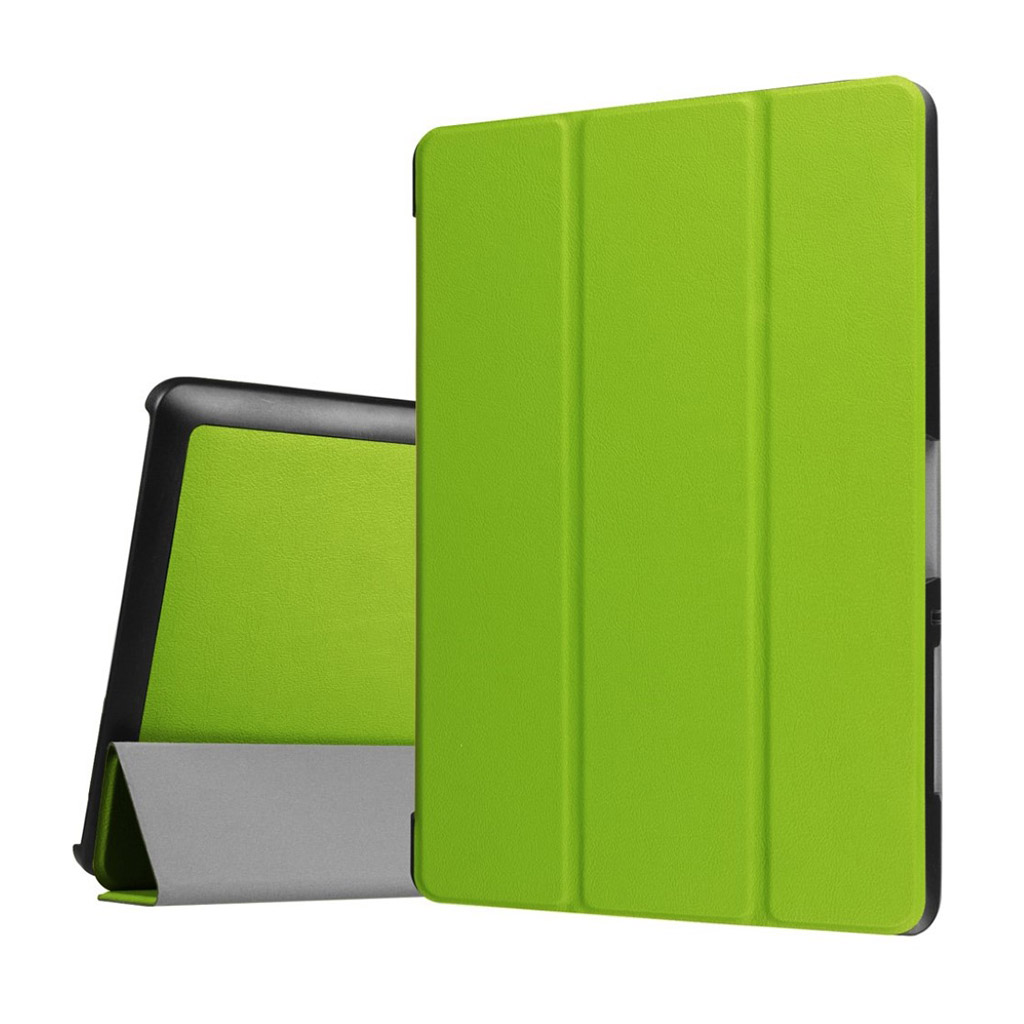 Bilde av Acer Iconia Tab 10 B3-a30 Tri-fold Pu Leather Flip Case - Green