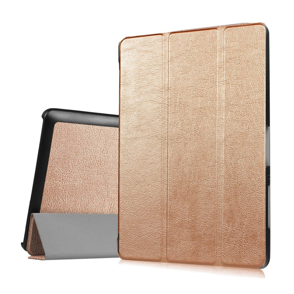Bilde av Acer Iconia Tab 10 B3-a30 Tri-fold Pu Leather Flip Case - Gold