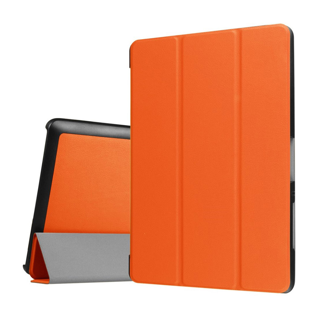 Bilde av Acer Iconia Tab 10 B3-a30 Tri-fold Pu Leather Flip Case - Orange