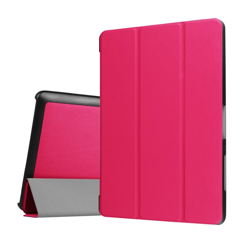 Bilde av Acer Iconia Tab 10 B3-a30 Tri-fold Pu Leather Flip Case - Rose