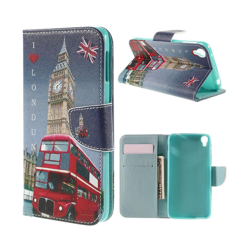 Bilde av Scherfig Etui Av Lær For Alcatel Onetouch Idol 3 - Big Ben I London