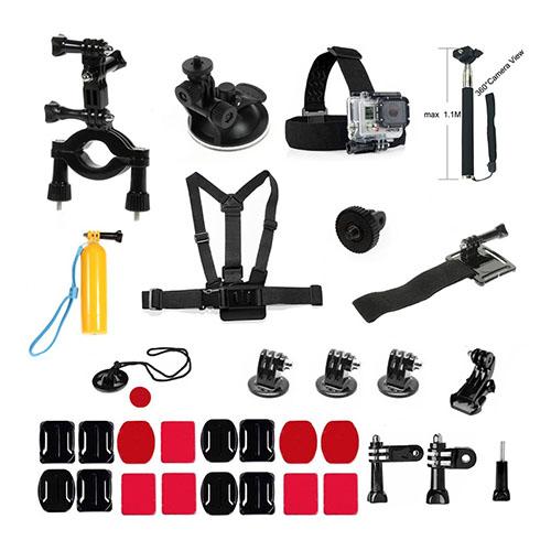 32 i en - Utendørs GoPro Tilbehørs Kit for GoPro Hero