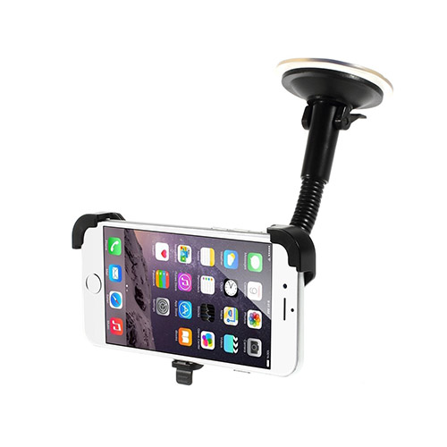 Bilde av 360 Rotasjon Smartfone Holder (Sort) for iPhone 6
