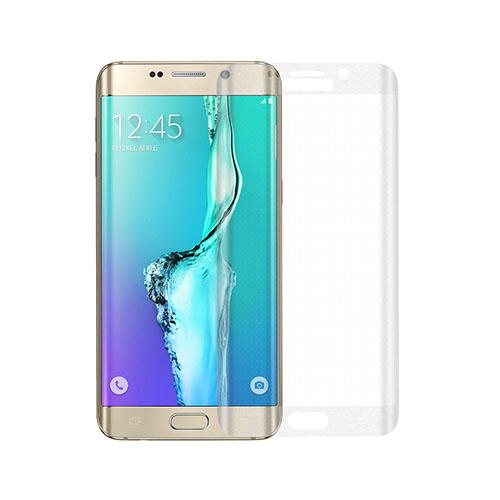 Bilde av 0.3mm herdet glass Buet Beskyttelses Film for Samsung Galaxy S6 edge Plus - gjennomsiktig