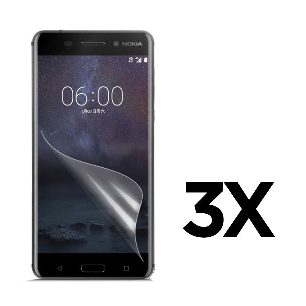 Bilde av 3-PACK Nokia 6 clear LCD screen protector