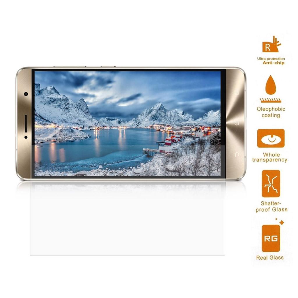 Bilde av Asus Zenfone 3 Deluxe Zs550kl Skjerm Beskyttelse Laget Av Herdet Glass - Gjennomsiktig