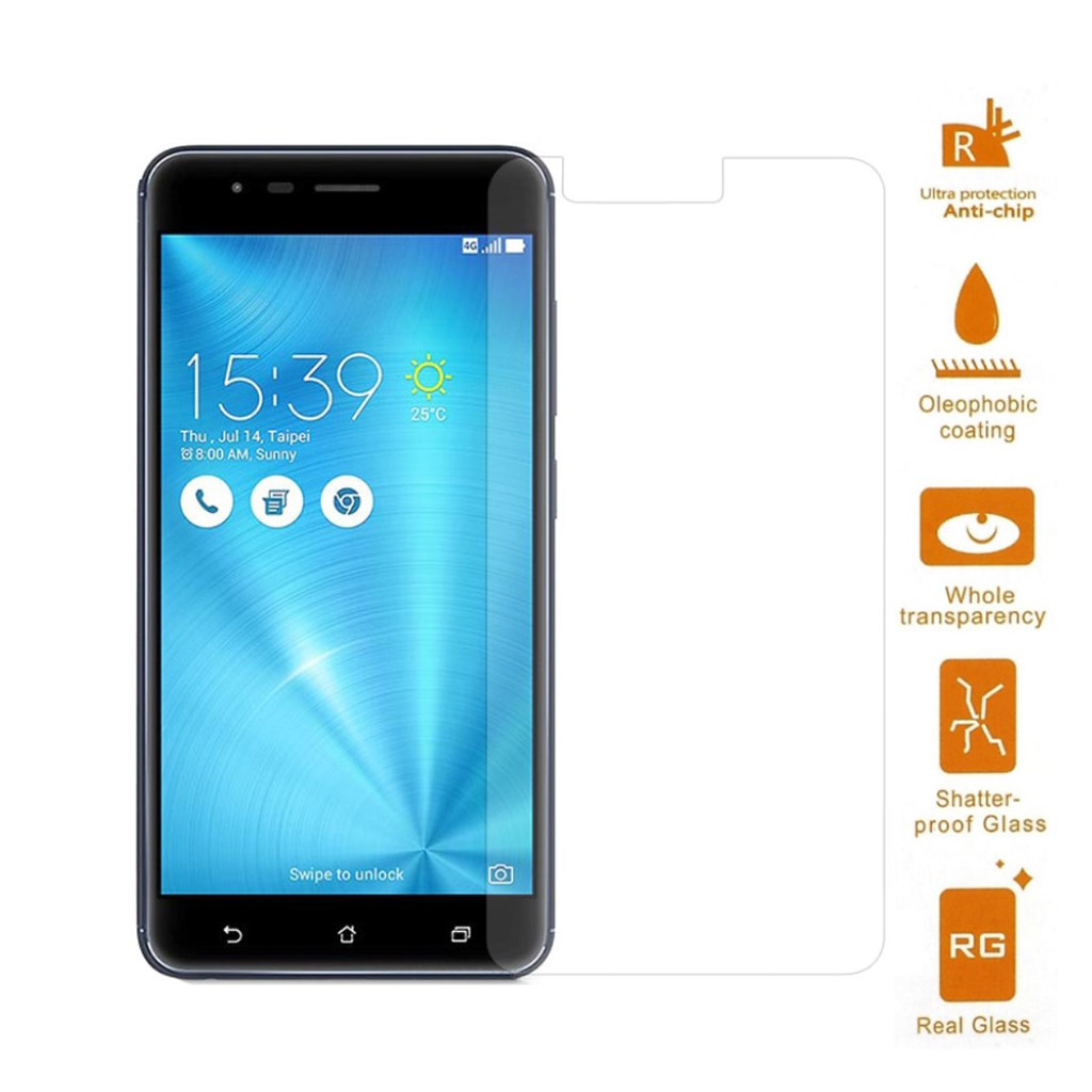 Bilde av Asus Zenfone Zoom S (ze553kl) Tempered Glass Screen Protector 0.3mm