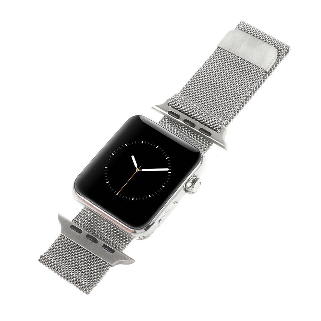Bilde av Apple Klokkearmbånd 42 Mm Laget Av Rustfritt Stål - Sølv
