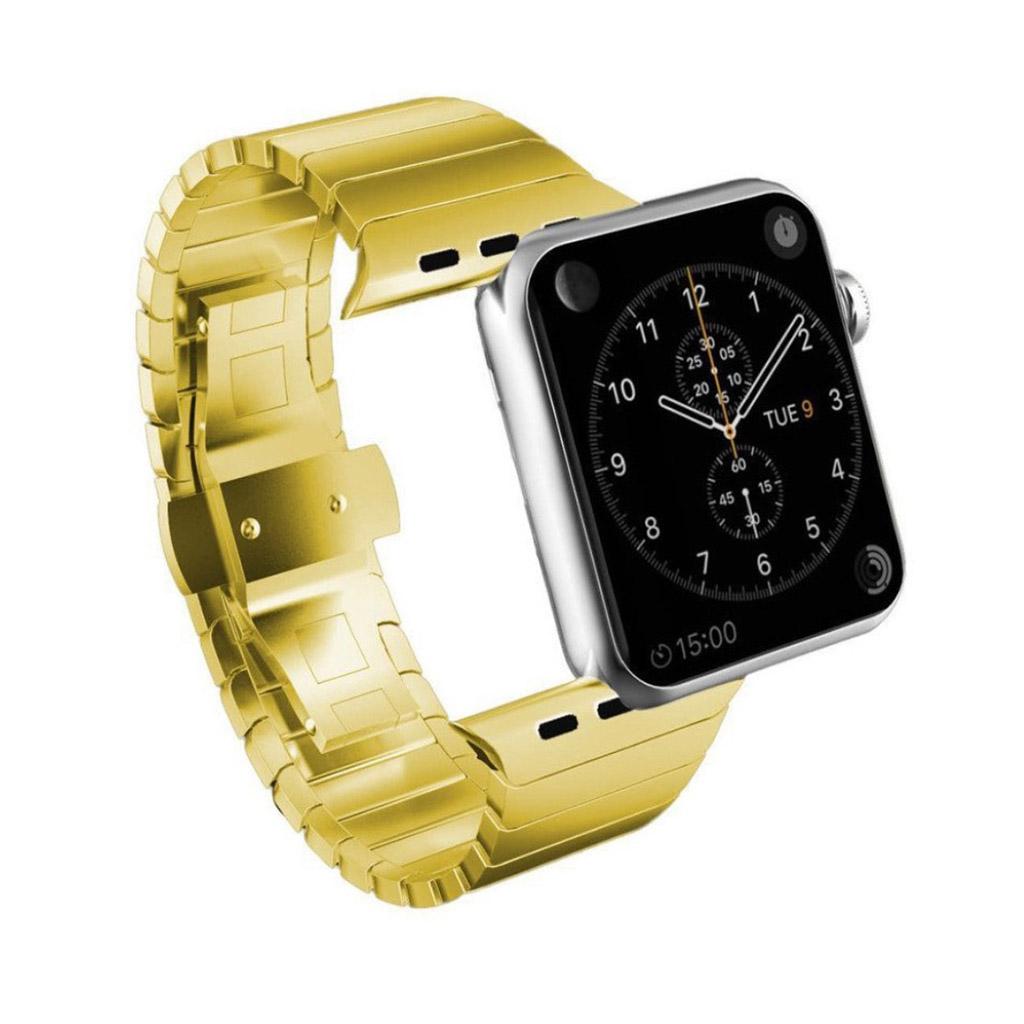 Bilde av Apple Klokkearmbånd 42 Mm Laget Av Rustfritt Stål - Gull