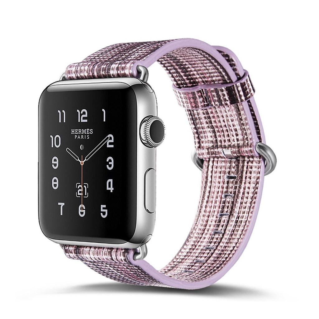 Bilde av Apple Erstatnings Klokkebånd 42 Mm Laget Av Ekte Lær - K Stil