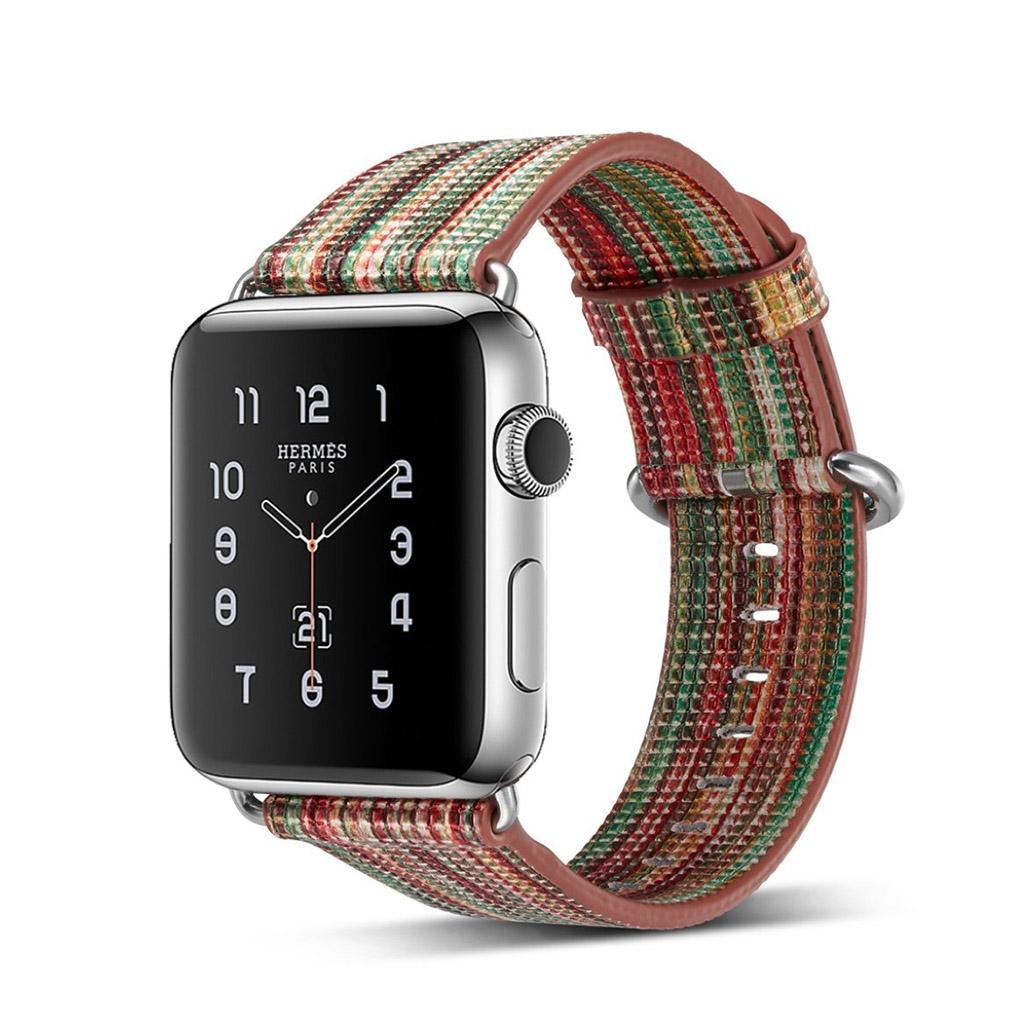 Bilde av Apple Erstatnings Klokkebånd 42 Mm Laget Av Ekte Lær - A Stil