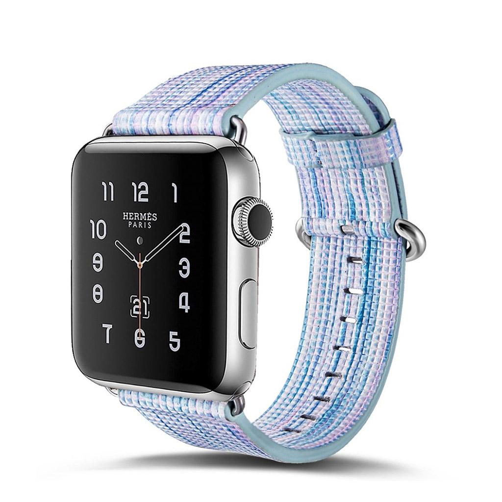 Bilde av Apple Erstatnings Klokkebånd 42 Mm Laget Av Ekte Lær - J Stil