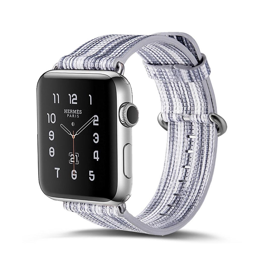 Bilde av Apple Erstatnings Klokkebånd 42 Mm Laget Av Ekte Lær - I Stil