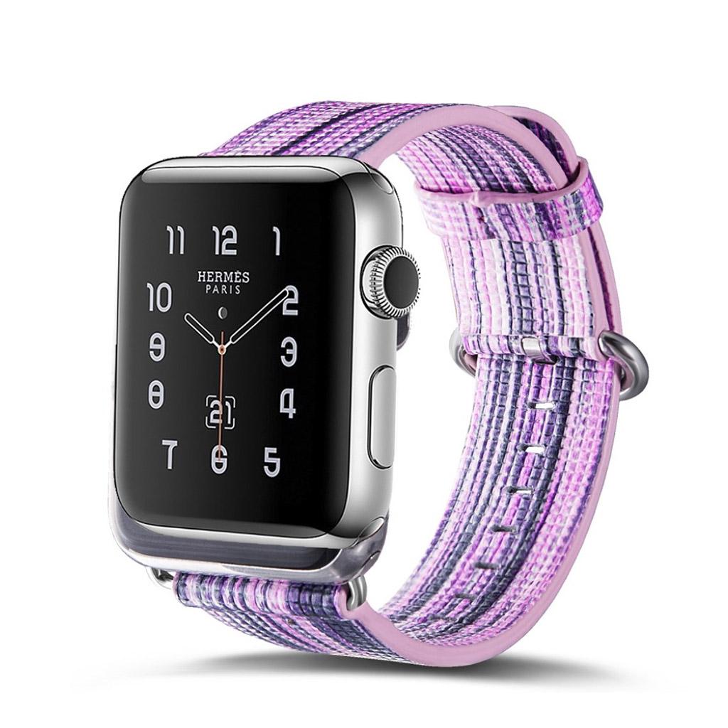 Bilde av Apple Erstatnings Klokkebånd 42 Mm Laget Av Ekte Lær - F Stil