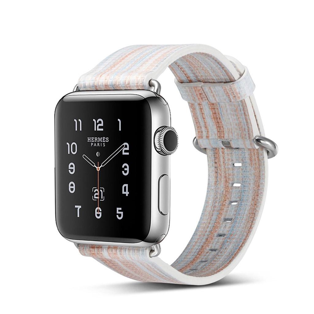 Bilde av Apple Erstatnings Klokkebånd 42 Mm Laget Av Ekte Lær - C Stil