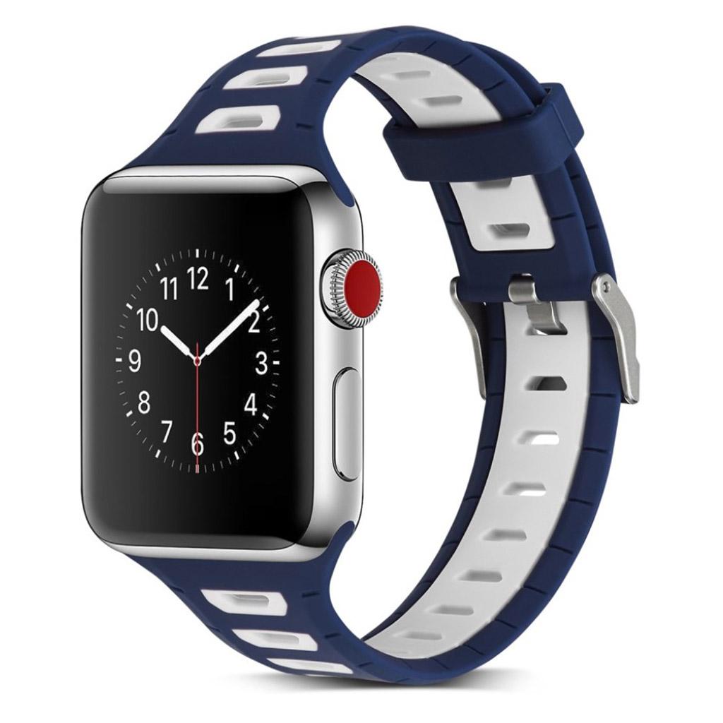 Bilde av Apple 42 Mm Klokkereim Laget Av Silikon - Rød