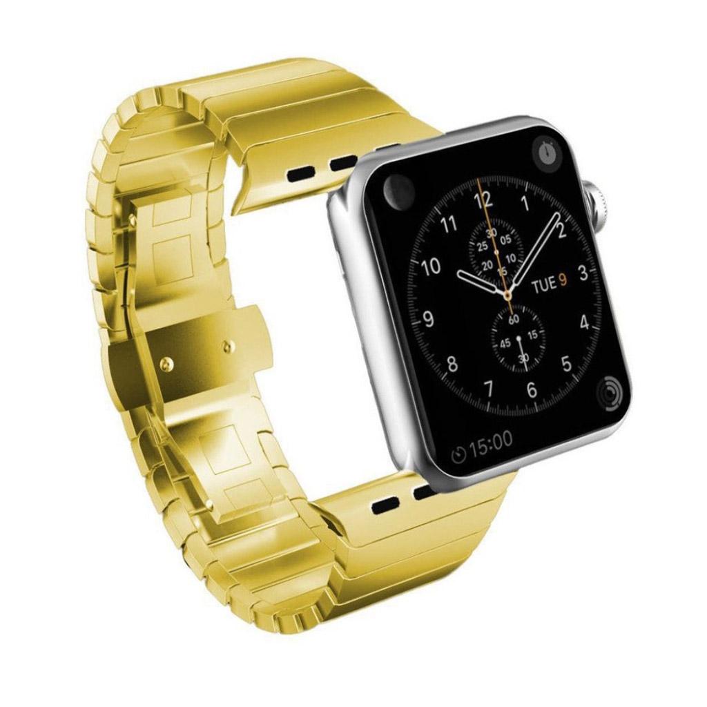 Bilde av Apple Klokkearmbånd 38 Mm Laget Av 316l Rustfritt Stål - Gull