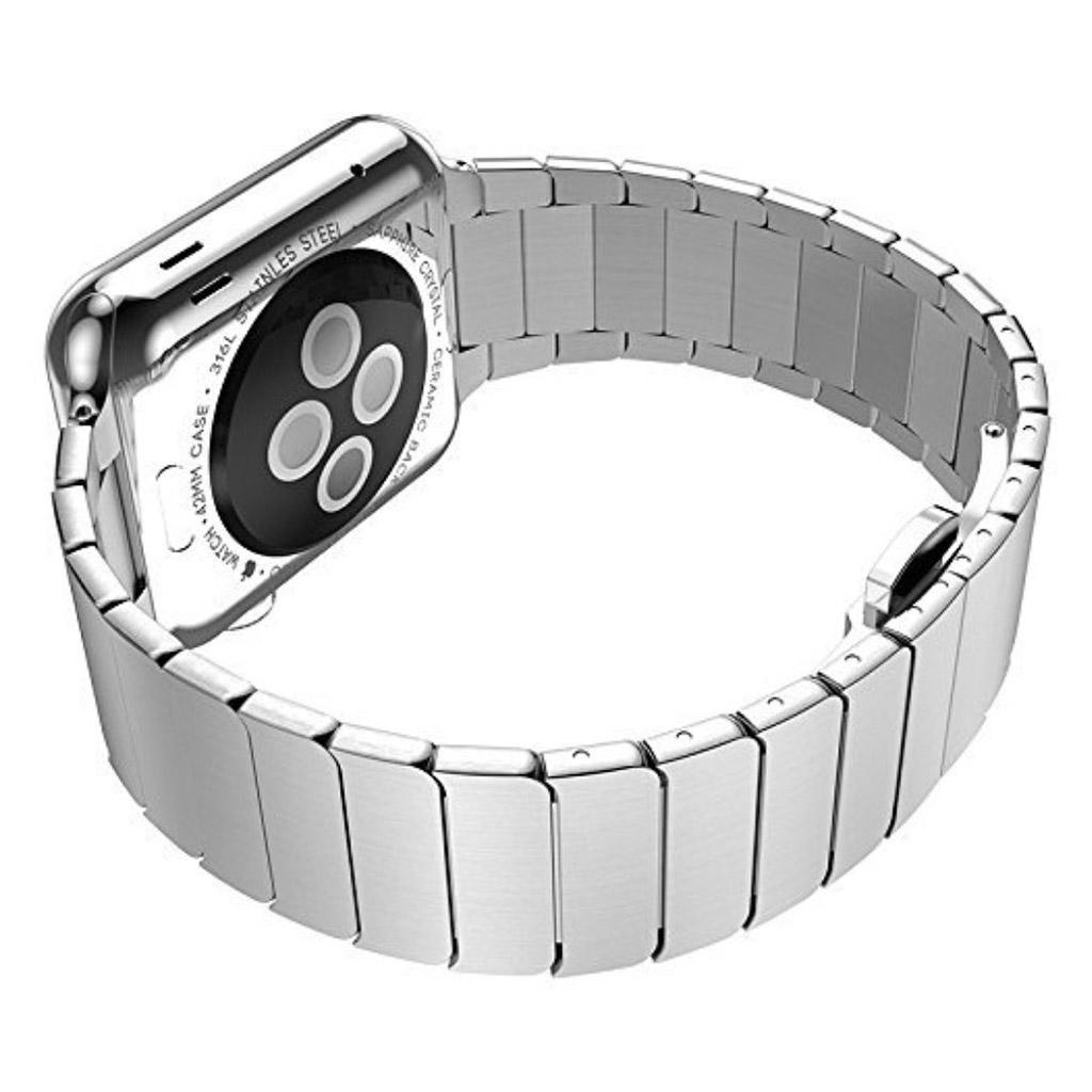 Bilde av Apple Klokkearmbånd 38 Mm Laget Av 316l Rustfritt Stål - Sølv