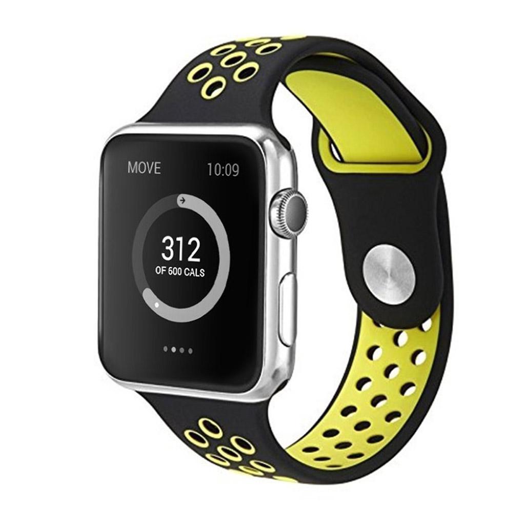 Bilde av Apple Klokkearmbånd 38 Mm Laget Av Silikon - Grønn