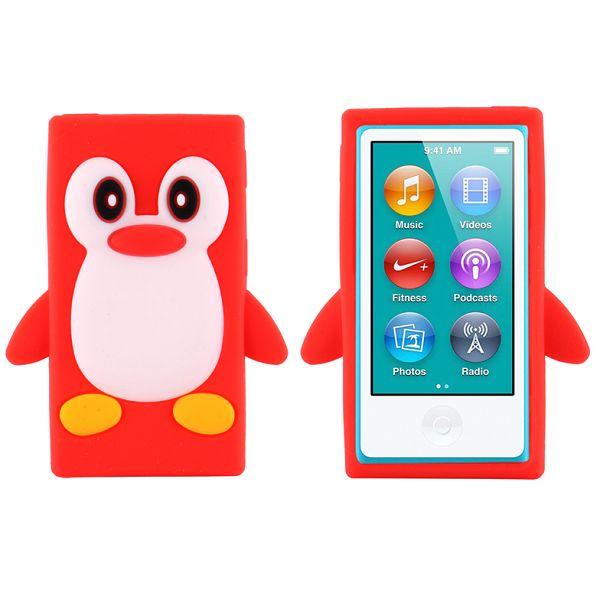 Bilde av Happy Penguin (rød) Ipod Nano 7 Deksel