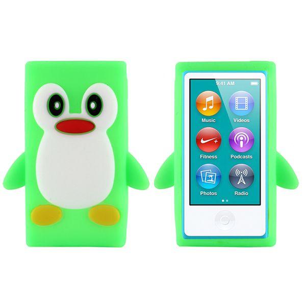 Bilde av Happy Penguin (lys Grønn) Ipod Nano 7 Deksel