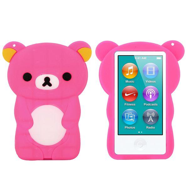 Bilde av Happy Bear (hot Rosa) Ipod Nano 7 Deksel
