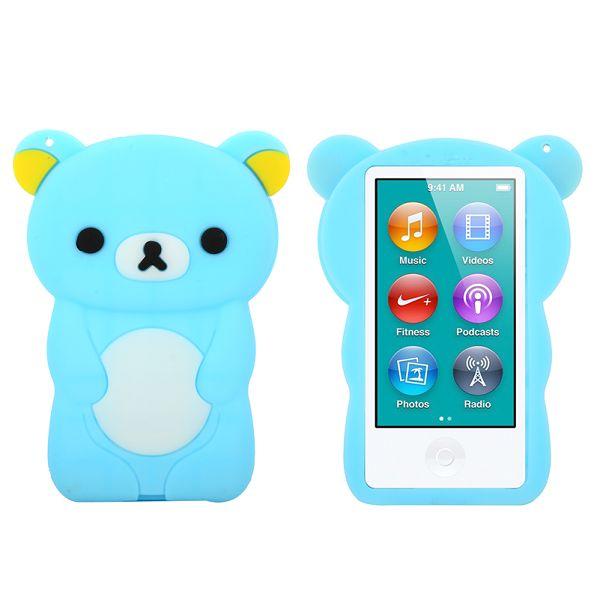 Bilde av Happy Bear (lyse Blå) Ipod Nano 7 Deksel