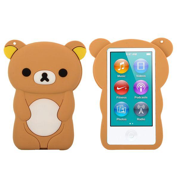 Bilde av Happy Bear (brun) Ipod Nano 7 Deksel