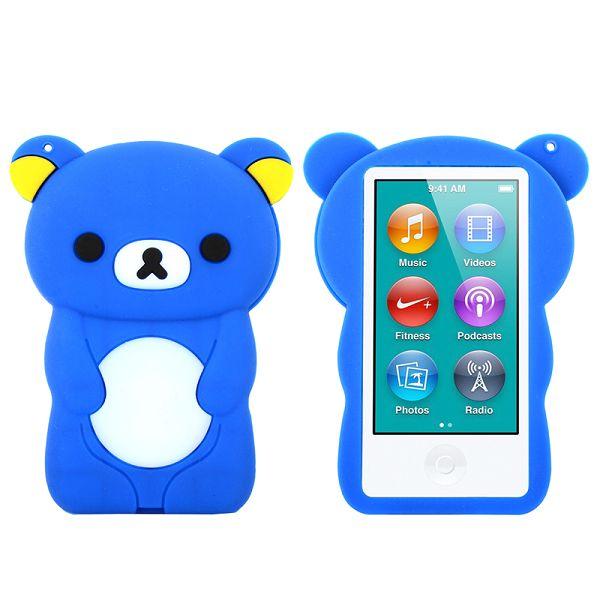 Bilde av Happy Bear (blå) Ipod Nano 7 Deksel