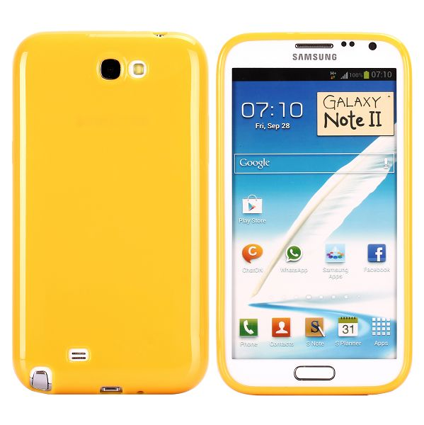 Candy Colors (Gul) Samsung Galaxy Note 2 Deksel