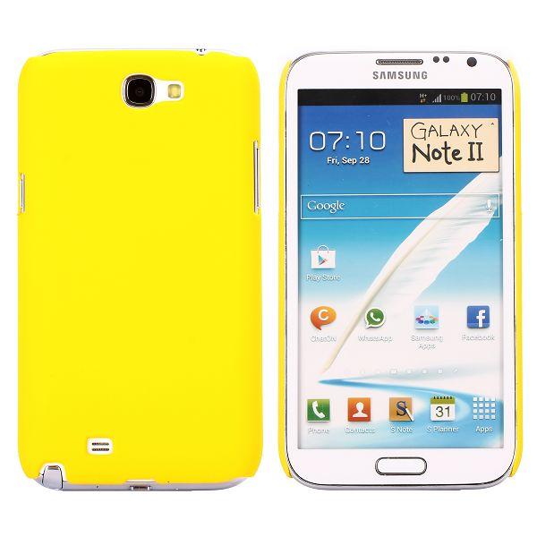 Hard Shell (Gul) Samsung Galaxy Note 2 Deksel
