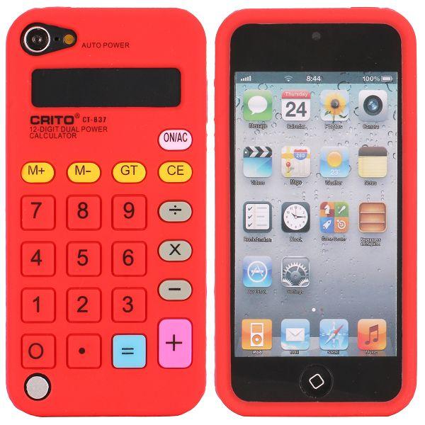 Bilde av Calculator (rød) Ipod Touch 5 Deksel