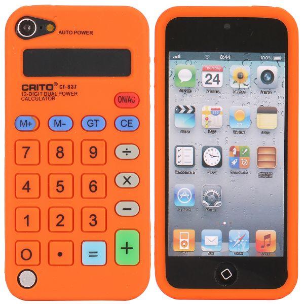 Bilde av Calculator (oransje) Ipod Touch 5 Deksel