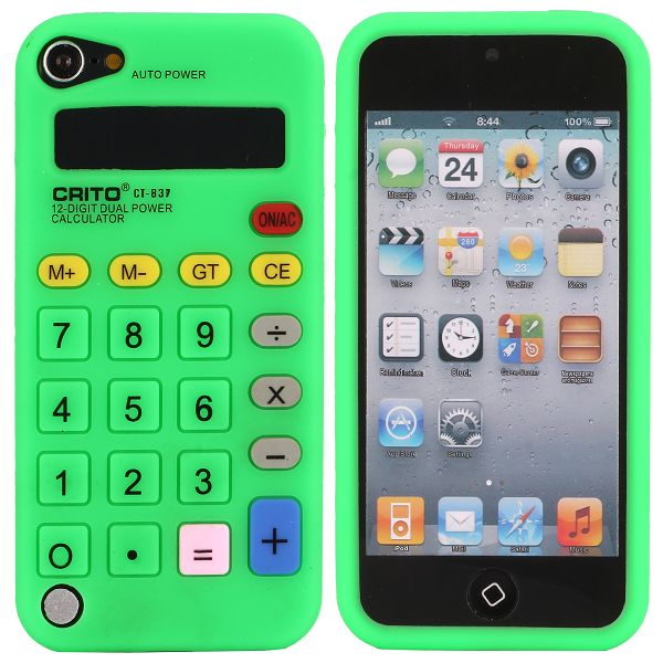 Bilde av Calculator (grønn) Ipod Touch 5 Deksel
