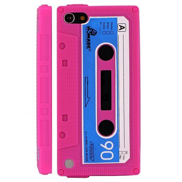 Bilde av Retro Cassette Tape (hot Rosa) Ipod Touch 5 Deksel