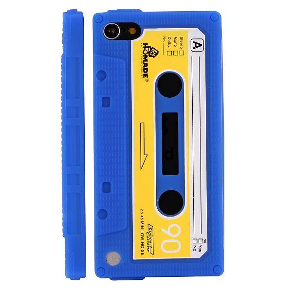 Bilde av Retro Cassette Tape (blå) Ipod Touch 5 Deksel