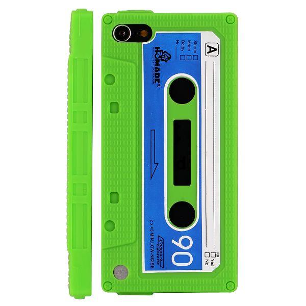 Bilde av Retro Cassette Tape (grønn) Ipod Touch 5 Deksel