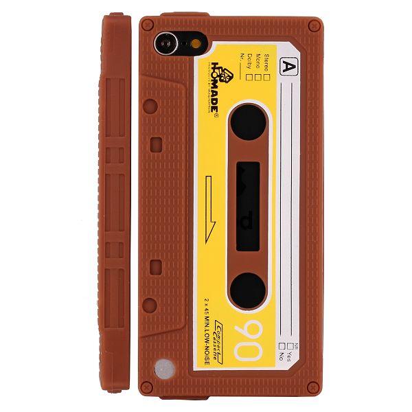 Bilde av Retro Cassette Tape (brun) Ipod Touch 5 Deksel