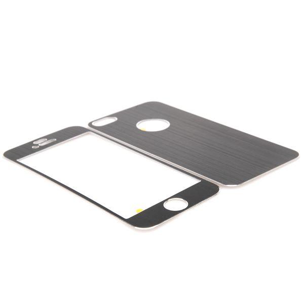 Bilde av Brushed Aluminium Iphone 5 Skin (svart)