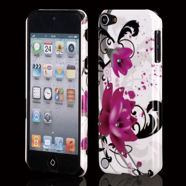 Bilde av Valentine Bling (to Lilla Blomster) Ipod Touch 5 Deksel