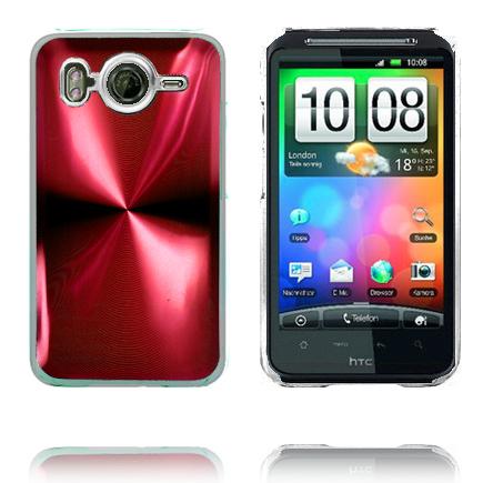 Bilde av Aluminium Blade - Gjennomsiktig Kant (Rød) HTC Desire HD Deksel