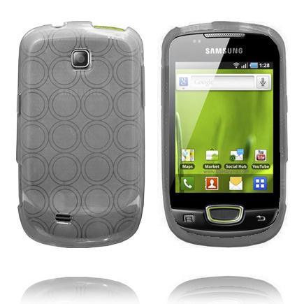 Amazona (Grå) Samsung Galaxy Mini S5570 Deksel
