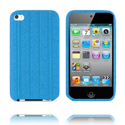 Bilde av Burnout T4 (lyse Blå) Ipod Touch 4 Deksel