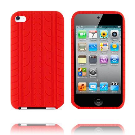 Bilde av Burnout T4 (rød) Ipod Touch 4 Deksel
